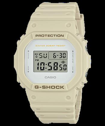 นาฬิกา Casio G-Shock Limited (Ecru) Sand Beige Militey color series รุ่น DW-5600EW-7 (ไม่วางขายในไทย) ของแท้ รับประกันศูนย์ 1 ปี (นำเข้าJapan กล่องหนัง)