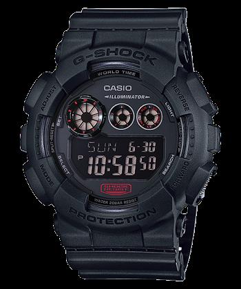 นาฬิกา คาสิโอ Casio G-Shock Limited Military Black Series รุ่น GD-120MB-1 (หายาก) ของแท้ รับประกันศูนย์ 1 ปี