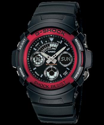 นาฬิกา คาสิโอ Casio G-Shock Standard Analog-Digital รุ่น AW-591-4A ของแท้ รับประกันศูนย์ 1 ปี