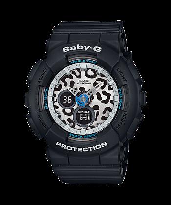 นาฬิกา Casio Baby-G Leopard series รุ่น BA-120LP-1A ของแท้ รับประกันศูนย์ 1 ปี