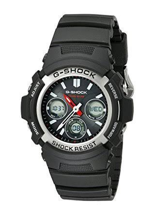 นาฬิกา คาสิโอ Casio G-Shock Standard Analog-Digital รุ่น AWR-M100-1ADR ของแท้ รับประกันศูนย์ 1 ปี