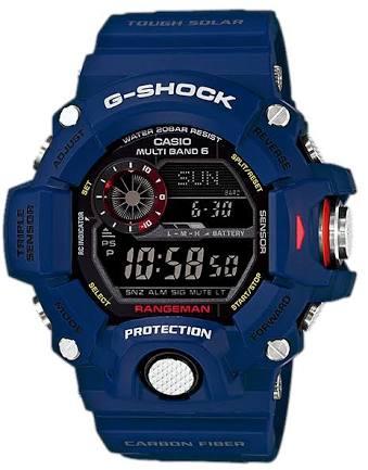 """นาฬิกา คาสิโอ Casio G-Shock RANGEMAN Limited รุ่น GW-9400NVJ-2JF """"Men in Navy Japan"""" (JAPAN ONLY) ของแท้ รับประกันศูนย์ 1 ปี"""