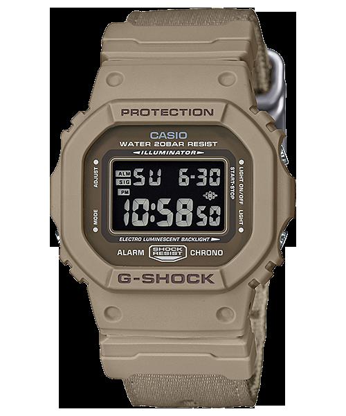 นาฬิกา Casio G-Shock Limited DW-5600LU Layered Utility series รุ่น DW-5600LU-8 สีทะเลทราย (ไม่วางขายในไทย) ของแท้ รับประกันศูนย์ 1 ปี