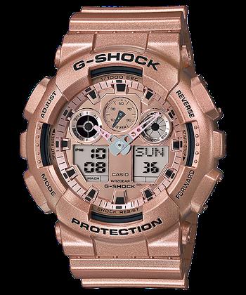 นาฬิกา คาสิโอ Casio G-Shock Limited model Crazy Gold series รุ่น GA-100GD-9A ของแท้ รับประกันศูนย์ 1 ปี