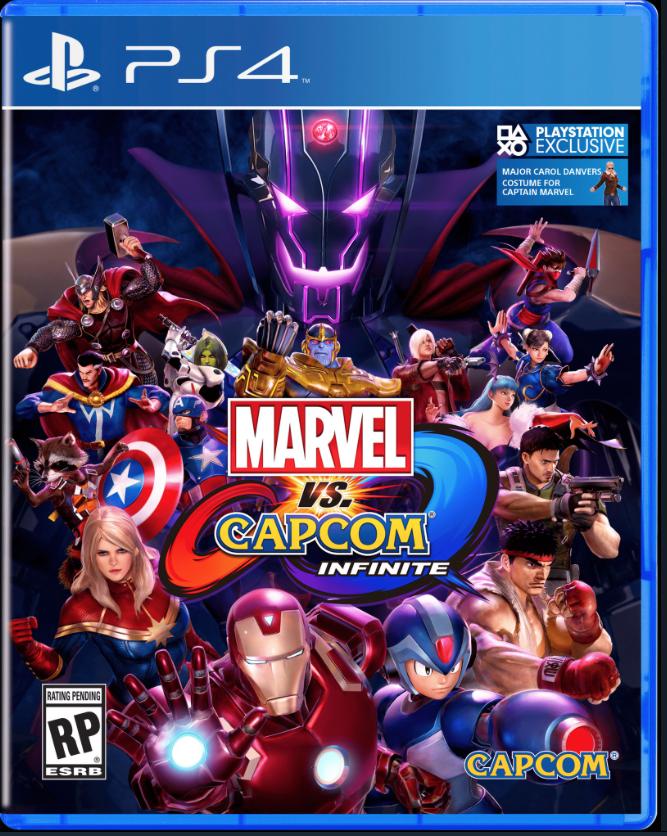 PS4 MARVEL VS CAPCOM INFINITE (Z3TH)