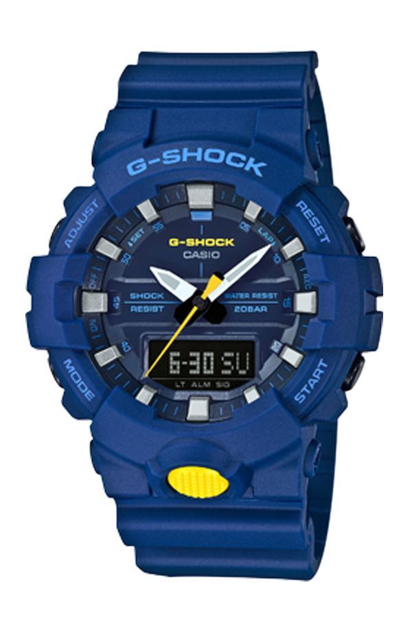 นาฬิกา Casio G-Shock ANALOG-DIGITAL GA-800SC Sporty Color series รุ่น GA-800SC-2A ของแท้ รับประกันศูนย์ 1 ปี