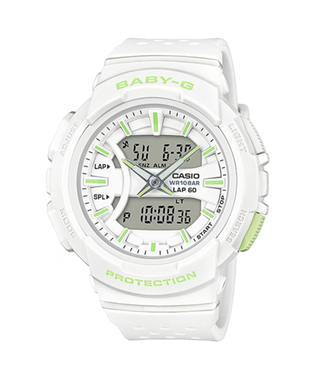 นาฬิกา Casio Baby-G for Running BGA-240 Neon Color series รุ่น BGA-240-7A2 ของแท้ รับประกันศูนย์ 1 ปี