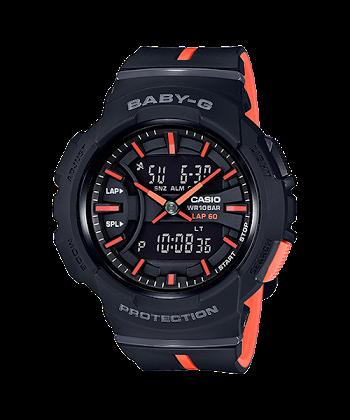 นาฬิกา คาสิโอ Casio Baby-G for Running BGA-240L Love to Run series รุ่น BGA-240L-1 ของแท้ รับประกันศูนย์ 1 ปี