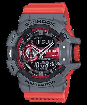 """นาฬิกา คาสิโอ Casio G-Shock Standard Analog-Digital รุ่น GA-400-4B """"NISMO"""" (นำเข้า Japan) หายากมาก ของแท้ รับประกันศูนย์ 1 ปี"""