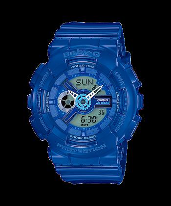 นาฬิกา คาสิโอ Casio Baby-G Girls' Generation Hyper Color series รุ่น BA-110BC-2A ของแท้ รับประกันศูนย์ 1 ปี