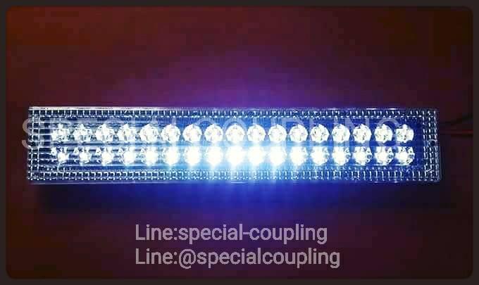 จำหน่ายไฟเพดาน แบบฝัง LED สีขาว 12V-24V รถตู้ รถบัสคะ. ขายปลีกและส่ง.