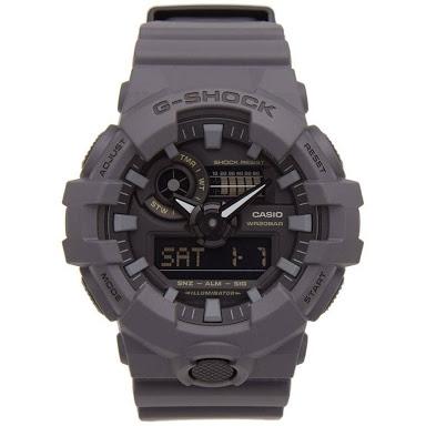 นาฬิกา คาสิโอ Casio G-Shock Special Color GA-700UC Military Utility Color series รุ่น GA-700UC-8A (สี Dark Gray) ของแท้ รับประกัน 1 ปี