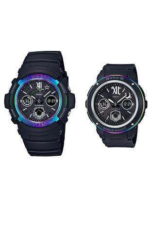 นาฬิกา คาสิโอ Casio G-Shock x Baby-G SETคู่รัก Limited G Presents LOVER's Collection 2017 รุ่น LOV-17B-1A (นำเข้าจาก Japan) ของแท้ รับประกันศูนย์ 1 ปี