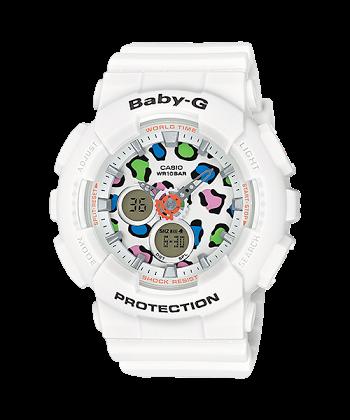 นาฬิกา Casio Baby-G Leopard series รุ่น BA-120LP-7A1 ของแท้ รับประกันศูนย์ 1 ปี
