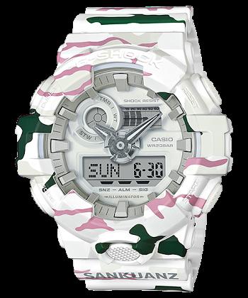 นาฬิกา Casio G-SHOCK x SANKUANZ Limited model G-Shock 35th Anniversary Collaboration series รุ่น GA-700SKZ-7A ของแท้ รับประกันศูนย์ 1 ปี