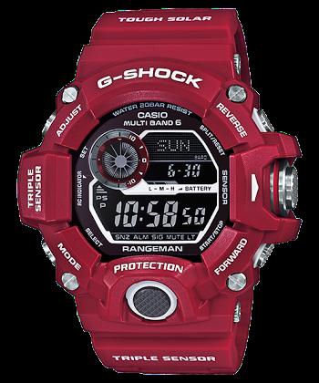 """นาฬิกา คาสิโอ Casio G-Shock Limited model """"Men in Rescue Red"""" รุ่น GW-9400RD-4 ของแท้ รับประกันศูนย์ 1 ปี"""
