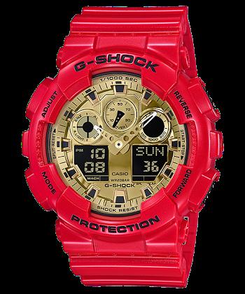 นาฬิกา Casio G-SHOCK Limited Valentine Love 2018 รุ่น GA-100VLA-4A ของแท้ รับประกันศูนย์ 1 ปี