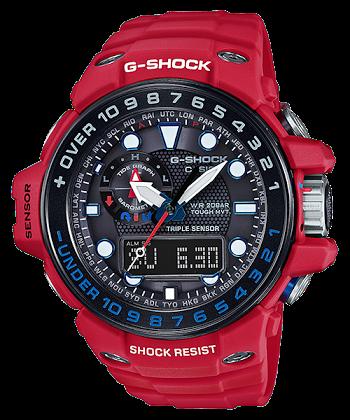 นาฬิกา Casio G-Shock GULFMASTER Limited Rescue Red series รุ่น GWN-1000RD-4AJF ของแท้ รับประกันศูนย์ 1 ปี (นำเข้าJapan กล่องหนังญี่ปุ่น) หายากมาก