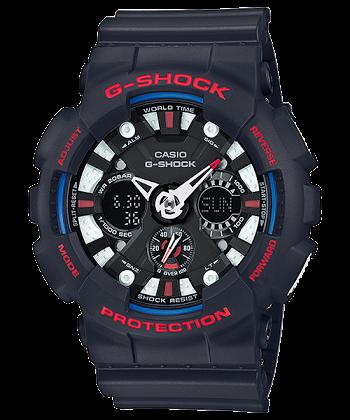นาฬิกา Casio G-Shock Limited Tricolor series รุ่น GA-120TR-1A ของแท้ รับประกันศูนย์ 1 ปี
