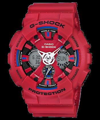 นาฬิกา Casio G-Shock Limited Tricolor series รุ่น GA-120TR-4A ของแท้ รับประกันศูนย์ 1 ปี