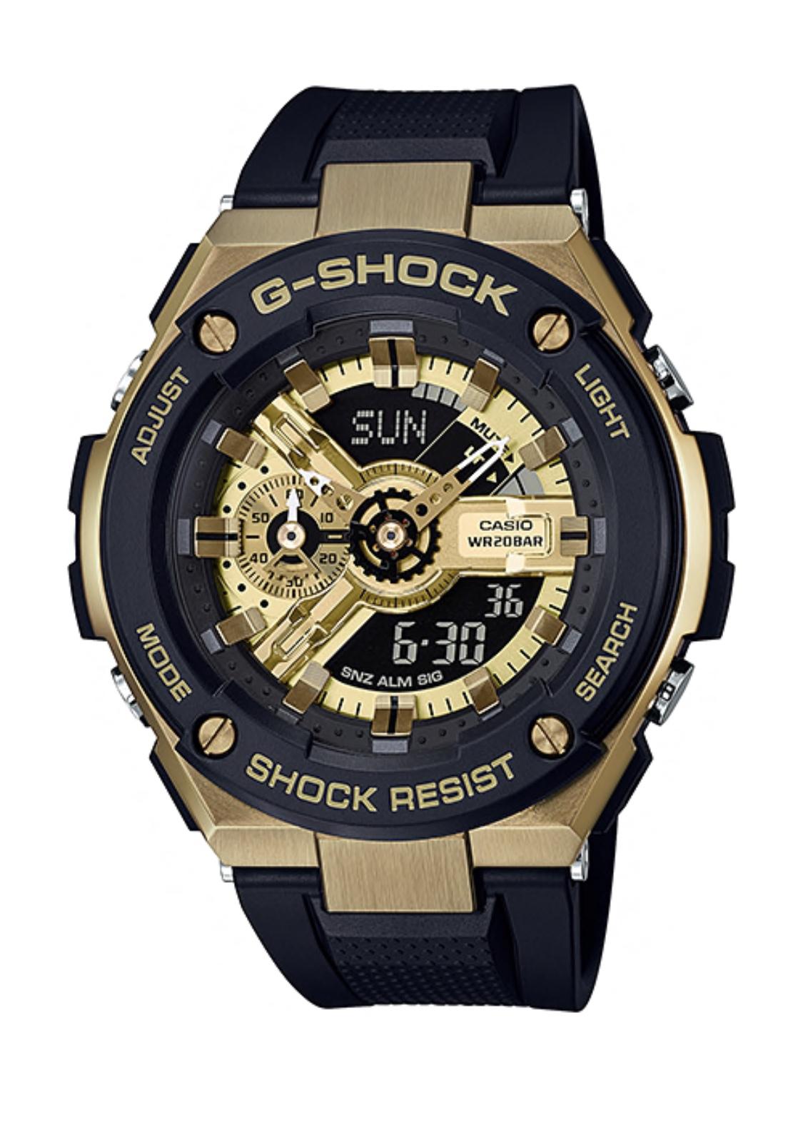 นาฬิกา Casio G-Shock G-STEEL GST-400 series รุ่น GST-400G-1A9 ของแท้ รับประกันศูนย์ 1 ปี