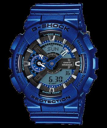 นาฬิกา Casio G-Shock Limited Neo Metallic series รุ่น GA-110NM-2A ของแท้ รับประกันศูนย์ 1 ปี