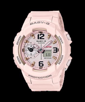 นาฬิกา Casio Baby-G BGA-230SC Sweet Pastel Colors series รุ่น BGA-230SC-4B (สีชมพูพาสเทล) ของแท้ รับประกันศูนย์ 1 ปี
