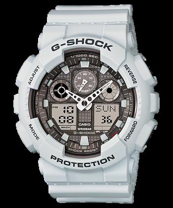 นาฬิกา คาสิโอ Casio G-Shock Limited model 30th Anniversary รุ่น GA-100LG-8A สีเทาควันบุหรี่