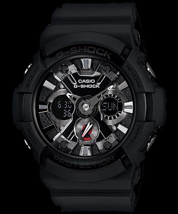 นาฬิกา คาสิโอ Casio G-Shock Standard Analog-Digital รุ่น GA-201-1A ของแท้ รับประกันศูนย์ 1 ปี