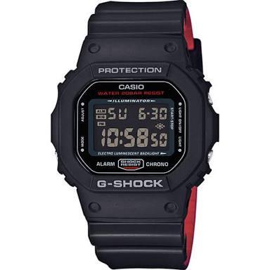 นาฬิกา Casio G-Shock Limited Heritage Black & Red (HR) series รุ่น DW-5600HR-1 ของแท้ รับประกันศูนย์ 1 ปี