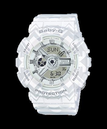 นาฬิกา Casio Baby-G Tribal Pattern series รุ่น BA-110TP-7A ของแท้ รับประกันศูนย์ 1 ปี