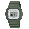 นาฬิกา CASIO G-SHOCK STANDART DIGITAL รุ่น DW-5600M-3 MILITARY SERIES ของแท้ รับประกัน 1 ปี