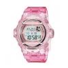 นาฬิกา คาสิโอ Casio Baby-G 200-meter water resistance รุ่น BG-169R-4DR (Jelly ชมพูใส) ของแท้ รับประกันศูนย์ 1 ปี