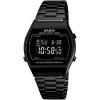 นาฬิกา CASIO ดิจิตอล สีดำล้วน Black color รุ่น B640WB-1B STANDARD DIGITAL สายสแตนเลสรมดำ ของแท้ รับประกันศูนย์ 1 ปี