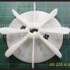 จำหน่ายใบพัดลมพลาสติก ขนาด od200mm id 28mm. L 37 mm.พร้อมส่งคะ ขายปลีกและส่ง