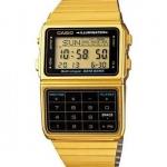 นาฬิกา CASIO ดิจิตอลเครื่องคิดเลข สีทอง รุ่น DBC-611G-1 STANDARD DIGITAL RETRO CLASSIC ของแท้ รับประกันศูนย์ 1 ปี