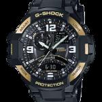 นาฬิกา CASIO G-SHOCK GRAVITYMASTER SERIES รุ่น GA-1000-9G ของแท้ รับประกัน 1 ปี BLACK-GOLD