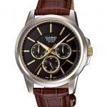 นาฬิกา คาสิโอ Casio BESIDE MULTI-HAND รุ่น BEM-307BL-1A2V ของแท้ รับประกันศูนย์ 1 ปี