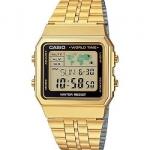 นาฬิกา CASIO ดิจิตอล สีทอง รุ่น A500WGA-1 STANDARD DIGITAL RETRO CLASSIC ของแท้ รับประกันศูนย์ 1 ปี