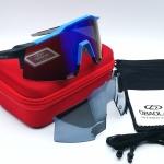 OBAOLAY แว่นตาปั่นจักรยาน SpeedCraft 100% สีน้ำเงิน - ดำ
