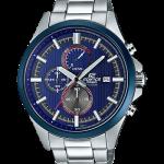 นาฬิกา Casio EDIFICE CHRONOGRAPH Racing Blue series รุ่น EFV-520RR-2AV ของแท้ รับประกันศูนย์ 1 ปี