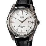 นาฬิกา คาสิโอ Casio BESIDE 3-HAND ANALOG รุ่น BEM-121BL-7AV ของแท้ รับประกันศูนย์ 1 ปี