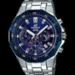 นาฬิกา Casio EDIFICE CHRONOGRAPH Racing Blue series รุ่น EFR-554RR-2AV ของแท้ รับประกันศูนย์ 1 ปี