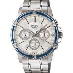 นาฬิกา คาสิโอ Casio BESIDE MULTI-HAND รุ่น BEM-311D-7AV ของแท้ รับประกันศูนย์ 1 ปี