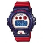 นาฬิกา คาสิโอ Casio G-Shock Limited model Red&Blue series รุ่น DW-6900AC-2DR ของแท้ รับประกันศูนย์ 1 ปี