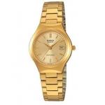 นาฬิกา คาสิโอ Casio สีทอง STANDARD Analog'women รุ่น LTP-1170N-9A ของแท้ รับประกันศูนย์ 1 ปี