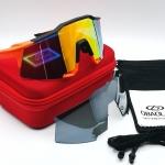 OBAOLAY แว่นตาปั่นจักรยานทรง Speed Craft 100%